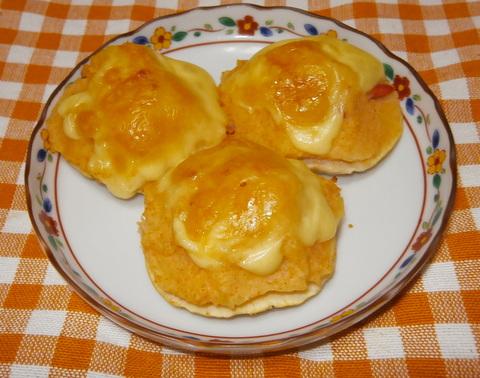 マッシュポテトの椎茸カップ