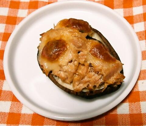 ツナマヨの椎茸カップ