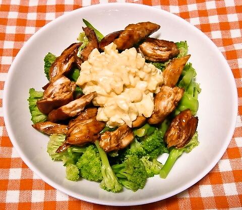 ブロッコリーのタルタルサラダ