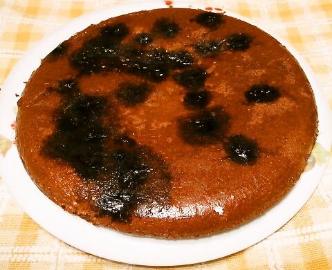 ブルーベリーのヨーグルトケーキ