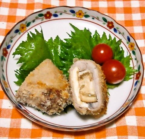 ナスとチーズの豚肉ロール