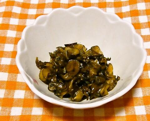 シソの実ときゅうりの佃煮